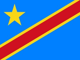 Drapeau de la Republique Democratique du Congo. Source : http://data.abuledu.org/URI/51237d8f-drapeau-de-la-republique-democratique-du-congo