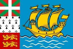 Drapeau de Saint-Pierre and Miquelon. Source : http://data.abuledu.org/URI/52802c2b-drapeau-de-saint-pierre-and-miquelon
