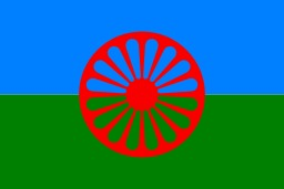 Drapeau du peuple Rom. Source : http://data.abuledu.org/URI/537a4f73-drapeau-du-peuple-rom