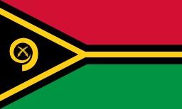 Drapeau du Vanuatu. Source : http://data.abuledu.org/URI/5123827a-drapeau-du-vanuatu