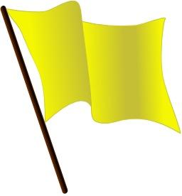 Drapeau jaune. Source : http://data.abuledu.org/URI/504659f9-drapeau-jaune