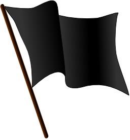 Drapeau noir. Source : http://data.abuledu.org/URI/504378f5-drapeau-noir