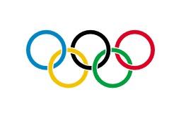 Drapeau olympique. Source : http://data.abuledu.org/URI/534a8fef-drapeau-olympique