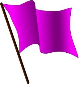 Drapeau violet. Source : http://data.abuledu.org/URI/50465ceb-drapeau-violet