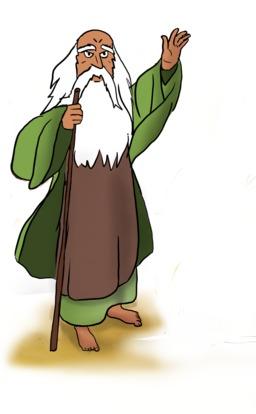 Druide gaulois. Source : http://data.abuledu.org/URI/55a4c052-druide-gaulois