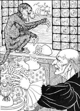 Du Thésauriseur et du Singe. Source : http://data.abuledu.org/URI/519ce679-du-thesauriseur-et-du-singe