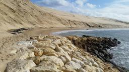 Dune du Pilat en mars 2016. Source : http://data.abuledu.org/URI/56db2a35-dune-du-pilat-en-mars-2016