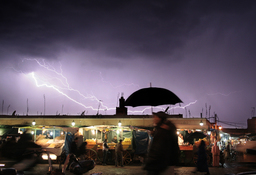 Éclair inter-nuageux au Maroc. Source : http://data.abuledu.org/URI/533c77f1-eclair-inter-nuageux-au-maroc