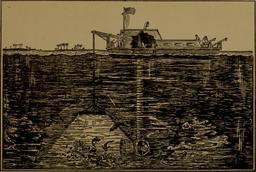 Éclairage sous-marin en 1915. Source : http://data.abuledu.org/URI/58d1d0dc-eclairage-sous-marin-en-1915