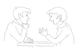 Écouter quelqu'un. Source : http://data.abuledu.org/URI/50256984-ecouter-quelqu-un
