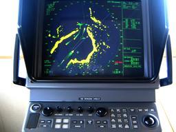 Écran de radar d'un navire. Source : http://data.abuledu.org/URI/5232fcf9-ecran-de-radar-d-un-navire