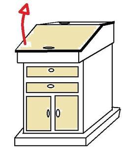 Écritoire sur pied. Source : http://data.abuledu.org/URI/50858d58-ecritoire-sur-pied