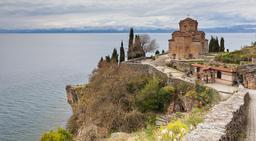 Église byzantine de Macédoine. Source : http://data.abuledu.org/URI/5461ec47-eglise-byzantine-de-macedoine