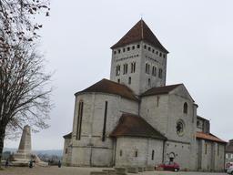Église de Sauveterre-de-Béarn. Source : http://data.abuledu.org/URI/58668ec1-eglise-de-sauveterre-de-bearn