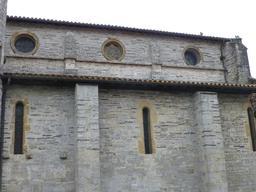 Église de Sauveterre-de-Béarn. Source : http://data.abuledu.org/URI/58669748-eglise-de-sauveterre-de-bearn