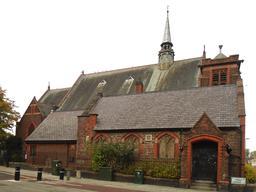 Église de St Bede à Liverpool. Source : http://data.abuledu.org/URI/5964f3ff-eglise-de-st-bede-a-liverpool