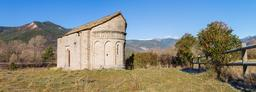 Église mozarabe en Aragon. Source : http://data.abuledu.org/URI/570144be-eglise-mozarabe-en-aragon