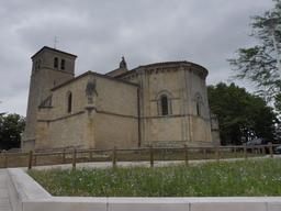 Église romane de Villenave-d'Ornon. Source : http://data.abuledu.org/URI/594eb8d4-eglise-romane-de-villenave-d-ornon
