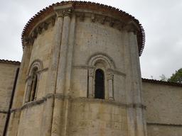 Église romane de Villenave-d'Ornon. Source : http://data.abuledu.org/URI/594eb922-eglise-romane-de-villenave-d-ornon