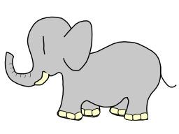 Éléphant. Source : http://data.abuledu.org/URI/501d0d68-elephant