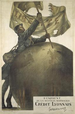 Emprunt de la Défense Nationale en 1917. Source : http://data.abuledu.org/URI/543c0997-emprunt-de-la-defense-nationale-en-1917