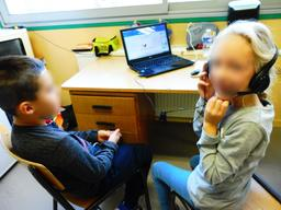 Enregistrement dans une classe de CP. Source : http://data.abuledu.org/URI/59d9832b-enregistrement-dans-une-classe-de-cp