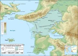 Ensablement de la baie de Milet. Source : http://data.abuledu.org/URI/51d3f116-ensablement-de-la-baie-de-milet