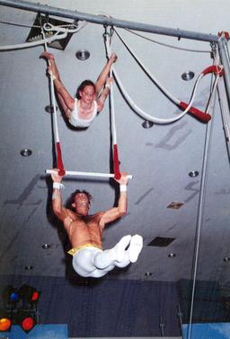 Entraînement au trapèze. Source : http://data.abuledu.org/URI/503a3fec-entrainement-au-trapeze