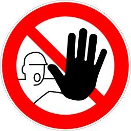 Entrée interdite aux personnes non autorisées. Source : http://data.abuledu.org/URI/51bf5b42-entree-interdite-aux-personnes-non-autorisees