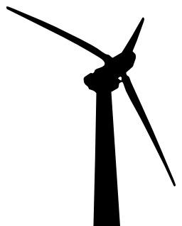 Éolienne noire. Source : http://data.abuledu.org/URI/50cb90b5-eolienne-noire