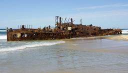 Épave du Maheno en Australie. Source : http://data.abuledu.org/URI/594a93a8-epave-du-maheno-en-australie