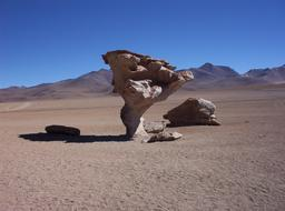 Érosion éolienne en Bolivie. Source : http://data.abuledu.org/URI/509e6274-erosion-eolienne-en-bolivie