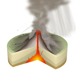 Éruption volcanique de type péléen. Source : http://data.abuledu.org/URI/506cb512-eruption-volcanique-de-type-peleen