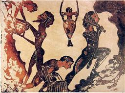 Esclaves dans une mine antique. Source : http://data.abuledu.org/URI/47f422e0-esclaves-dans-une-mine-antique