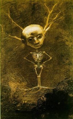 Esprit de la forêt d'Odilon Redon. Source : http://data.abuledu.org/URI/5116bc3e-esprit-de-la-foret-d-odilon-redon
