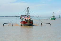 Estuaire de la Gironde - pêche au carrelet. Source : http://data.abuledu.org/URI/52cf2baa-estuaire-de-la-gironde-peche-au-carrelet