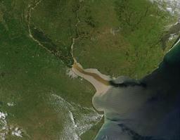 Estuaire du rio de la Plata. Source : http://data.abuledu.org/URI/56c31dcb-estuaire-du-rio-de-la-plata