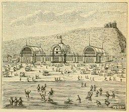 Établissement de bains de mer au XIXème siècle. Source : http://data.abuledu.org/URI/524ed8f1-etablissement-de-bains-de-mer-au-xixeme-siecle