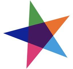 Étoile à cinq branches. Source : http://data.abuledu.org/URI/53431a3e-etoile-a-cinq-branches
