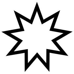 Étoile à neuf branches. Source : http://data.abuledu.org/URI/5343148e-etoile-a-neuf-branches