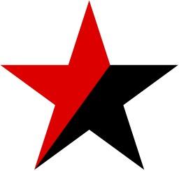 Étoile de l'anarchie. Source : http://data.abuledu.org/URI/517f7e8e-etoile-de-l-anarchie