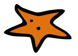 Étoile de mer. Source : http://data.abuledu.org/URI/50a25614-etoile-de-mer