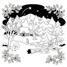 Étoile filante à Noël. Source : http://data.abuledu.org/URI/52b4d773-etoile-filante-a-noel