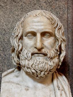 Euripide. Source : http://data.abuledu.org/URI/50561f50-euripide