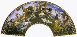 Éventail des caricatures d'artistes romantiques. Source : http://data.abuledu.org/URI/51a4f020-eventail-des-caricatures-d-artistes-romantiques