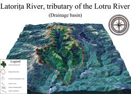 Exemple de bassin versant. Source : http://data.abuledu.org/URI/509a737a-exemple-de-bassin-versant