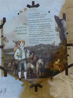 Exposition dans la tour de la Chaîne à La Rochelle. Source : http://data.abuledu.org/URI/5821160e-exposition-dans-la-tour-de-la-chaine-a-la-rochelle