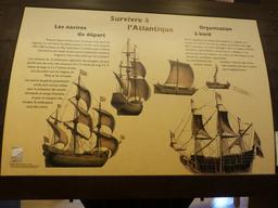 Exposition dans la tour de la Chaîne à La Rochelle. Source : http://data.abuledu.org/URI/58211642-exposition-dans-la-tour-de-la-chaine-a-la-rochelle