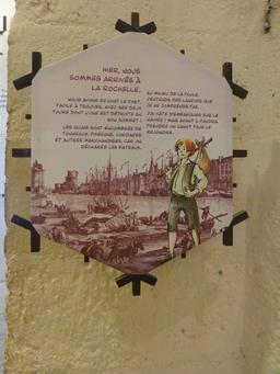 Exposition dans la tour de la Chaîne à La Rochelle. Source : http://data.abuledu.org/URI/582116ea-exposition-dans-la-tour-de-la-chaine-a-la-rochelle