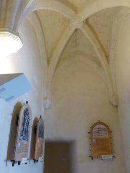 Exposition dans la tour de la Chaîne à La Rochelle. Source : http://data.abuledu.org/URI/58217808-exposition-dans-la-tour-de-la-chaine-a-la-rochelle